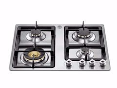 - Gas built-in hob PROFESSIONAL - P680 1 PRO X - Bertazzoni