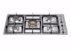 - Gas built-in hob PROFESSIONAL - P910 1 PRO X - Bertazzoni
