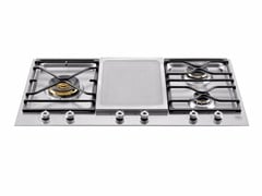 - Built-in hob PROFESSIONAL - PM36 3 0G X - Bertazzoni