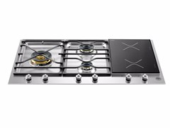 - Built-in hob PROFESSIONAL - PM36 3 I0 X - Bertazzoni