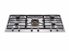 - Gas built-in hob PROFESSIONAL - PM36 5 00 X - Bertazzoni