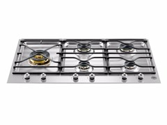 - Gas built-in hob PROFESSIONAL - PM36 5 S0 X - Bertazzoni