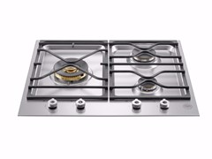 - Gas built-in hob PROFESSIONAL - PM60 3 0 X - Bertazzoni