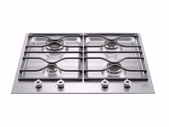 - Gas built-in hob PROFESSIONAL - PM60 4 0 X - Bertazzoni