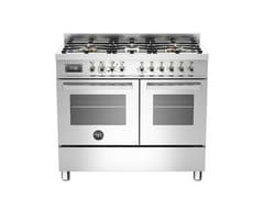 - Cucina a libera installazione professionale PROFESSIONAL - PRO100 6 MFE D - Bertazzoni
