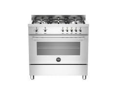 - Cucina a libera installazione PROFESSIONAL - PRO90 5 GEV S XE - Bertazzoni