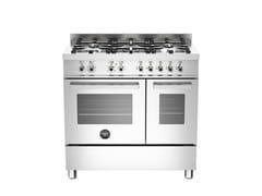 - Cucina a libera installazione professionale PROFESSIONAL - PRO90 5 MFE D XE - Bertazzoni