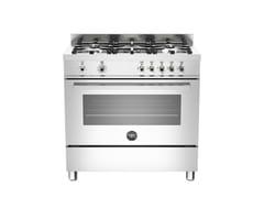 - Cucina a libera installazione PROFESSIONAL - PRO90 5 MFE S XE - Bertazzoni