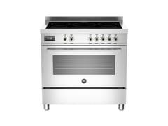 - Cucina a libera installazione professionale PROFESSIONAL - PRO90 5I MFE S - Bertazzoni