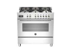 - Cucina a libera installazione professionale PROFESSIONAL - PRO90 6 MFE S - Bertazzoni
