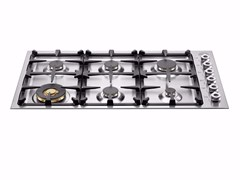 - Gas built-in hob PROFESSIONAL - QB36 6 00 X - Bertazzoni