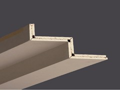 - Profiles in plasterboard for creating veils and lower shapes PROFILGIPS TWO STEPS 2.00 M - Gyps