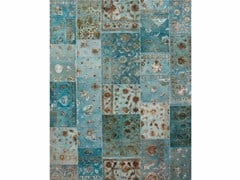 - Tappeto fatto a mano PROVENANCE WOOL & SILK - ARUBA BLUE - Jaipur Rugs