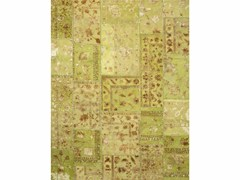 - Tappeto fatto a mano PROVENANCE WOOL & SILK - LIME GREEN - Jaipur Rugs