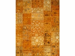 - Tappeto fatto a mano PROVENANCE WOOL & SILK-STARTLING ORANGE - Jaipur Rugs