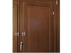 - Wooden panel shutter Panel shutter - Pail Serramenti