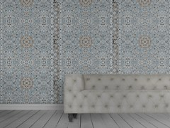- Wallpaper PERSIAN WALLPAPER BLUE - Mineheart