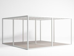 - Freestanding aluminium pergola Polyethylene Ceiling and Floor Module - GANDIA BLASCO