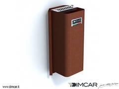 - Steel ashtray Posacenere Cenerino con attacco a muro - DIMCAR