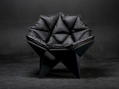 - Lounge chair Q1 BLACK - ODESD2