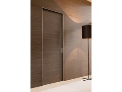 - Contemporary style wooden pocket sliding door QUADRA | Pocket sliding door - ALBED by Delmonte