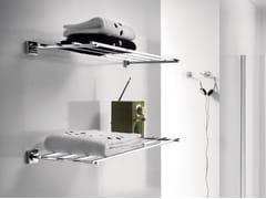 - Metal bathroom wall shelf QUADRO | Bathroom wall shelf - INDA®