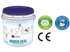 Idropittura acrilica lavabile a base di farine di quarzoQUARZO SETA - MALVIN
