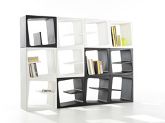 Libreria componibile in polietileneQUBY - B-LINE