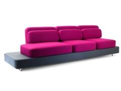 - 3 seater fabric sofa QUID | 3 seater sofa - Adrenalina