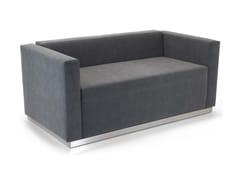 - 2 seater leather sofa QUINCY | Sofa - Domingo Salotti