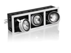 - LED adjustable aluminium built-in lamp R30 - NOBILE ITALIA