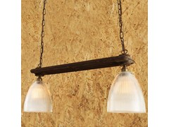 - Direct light handmade pendant lamp RAD DOUBLE HOLOPHANE PENDANT - Mullan Lighting
