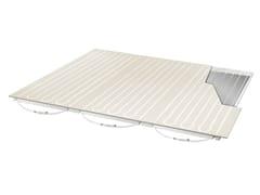 Pannelli riscaldamento/raffrescamento per soffittoRADIAL TOP C - ISOLCONFORT