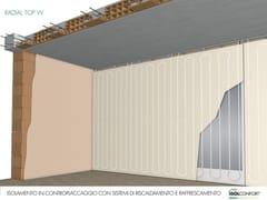 Pannello radiante per riscaldamento/raffrescamento a pareteRADIAL TOP W - ISOLCONFORT