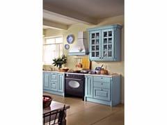 - Cucina componibile laccata in legno con maniglie RAFFAELLO | Cucina componibile - Oikos Cucine