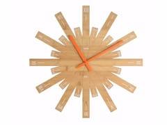 Orologio in bambù da pareteRAGGIANTE - ALESSI