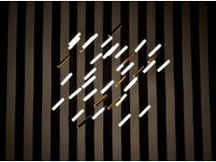Lampadario a LED in porcellana con dimmerRAINY DAY | Lampada a sospensione - BEAU & BIEN