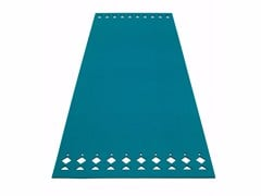 - Solid-color rectangular felt rug RANA | Rectangular rug - HEY-SIGN