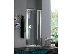 - Niche glass shower cabin with hinged door RAPID - 5 - INDA®