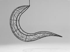 Seduta sospesa a 1 posto in acciaio verniciato a polvereRECLINER | Seduta sospesa - STUDIO STIRLING