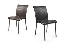 - Contemporary style stackable garden chair REGINA - Nardi