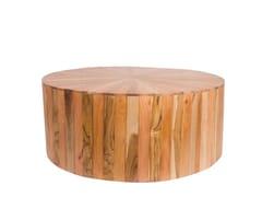Tavolino da giardino rotondo in legnoREMIX | Tavolino rotondo - IL GIARDINO DI LEGNO
