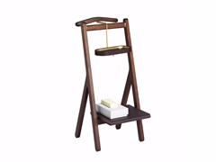 - Wooden valet stand REN | Valet stand - Poltrona Frau