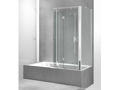 - Tempered glass bathtub wall panel REPLAY SR+SE - VISMARAVETRO