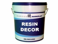 Stucco monocomponente decorativo per pavimenti e paretiRESIN DECOR - COLORIFICIO MARMOPLAST