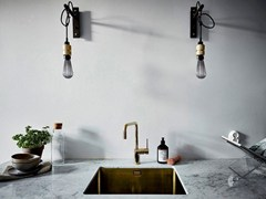 - Painted-finish stainless steel kitchen mixer tap RHYTHM RH-360 - Nivito