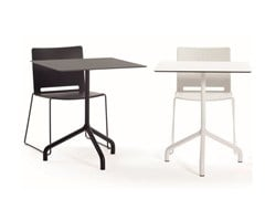 - Drop-leaf square table RIBALTO | Square table - IBEBI