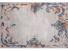 - Patterned handmade rectangular rug RICHELIEU MANGO - EDITION BOUGAINVILLE