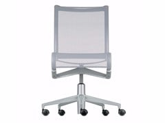 - Height-adjustable swivel task chair with casters ROLLINGFRAME+ - 456 - Alias