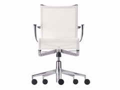 - Height-adjustable swivel task chair with armrests ROLLINGFRAME+ TILT - 445 - Alias